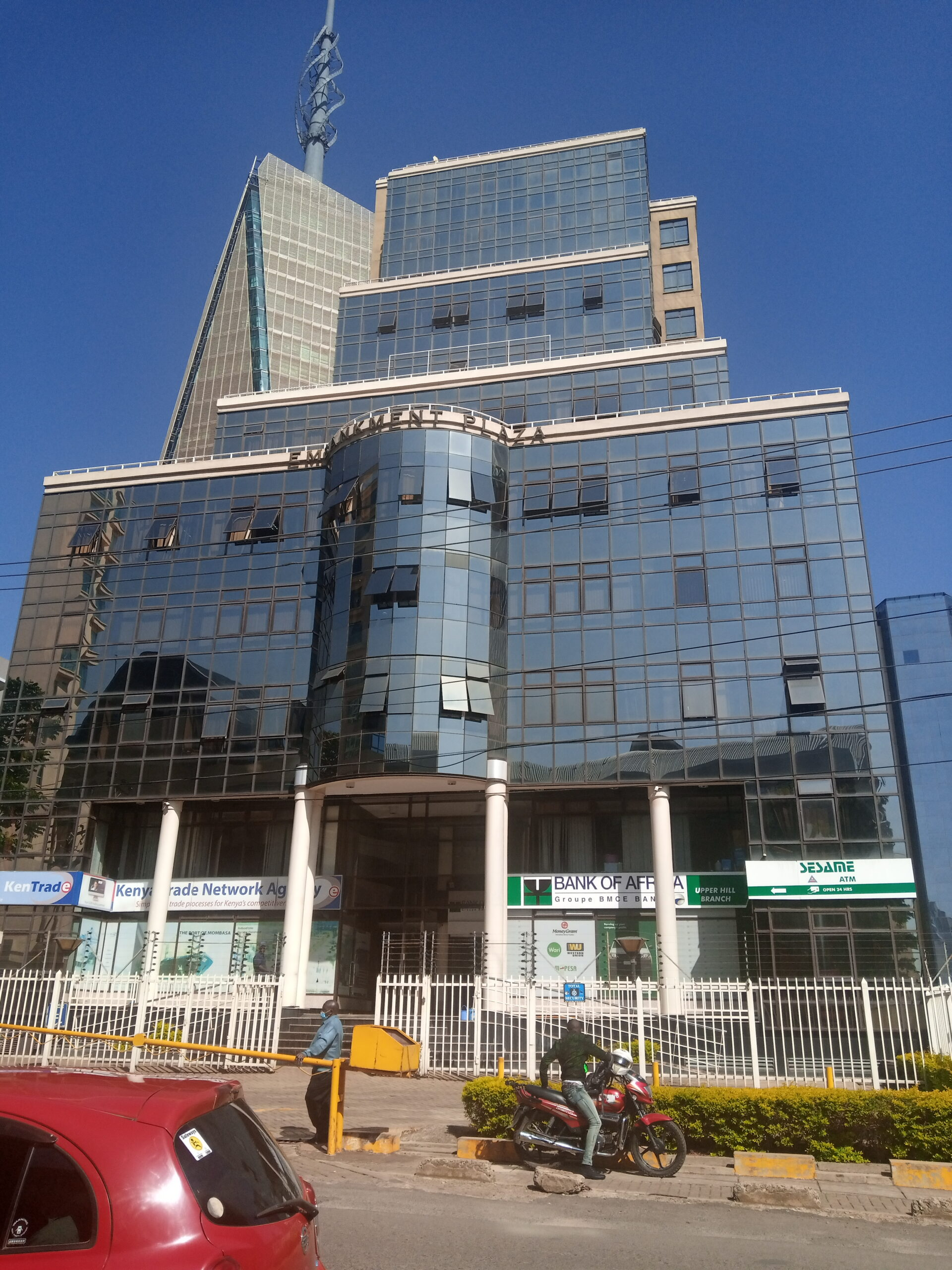 Office Space TO LET – Longonot Road, Upperhill, Nairobi